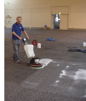 Individual commercial carpet cleaning